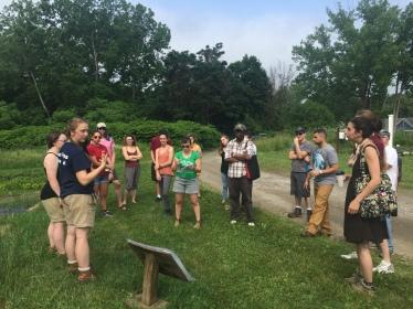 Grace welcomes summer class to F4A Garden